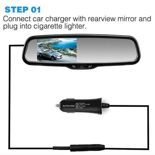 how- to install backup camera step one