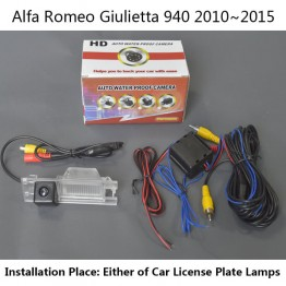 Alfa Romeo Giulietta 940 Backup/Rear View Camera Price | DIYRC