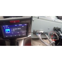 Honda CR-V CRV AV reversing camera conversion line
