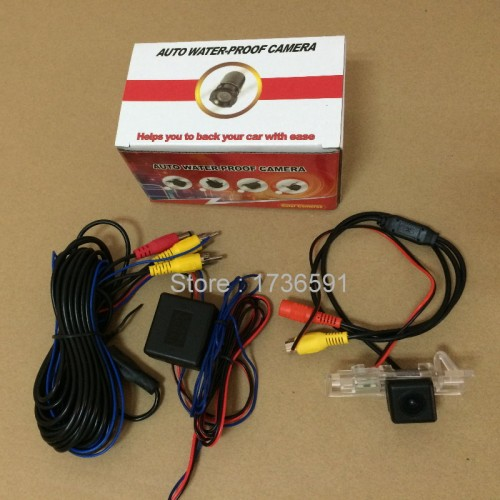 Power Relay Filter For Audi Q3 2012~2014 + Car Rear View Camera / Back up Reverse Camera / HD CCD NIGHT VISION