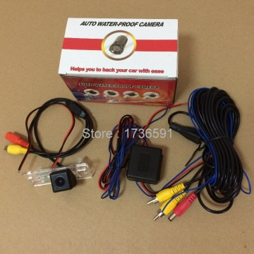 Power Relay Filter For Audi A1 2010~2015 + Car Rear View Camera / Back up Reverse Camera / HD CCD NIGHT VISION