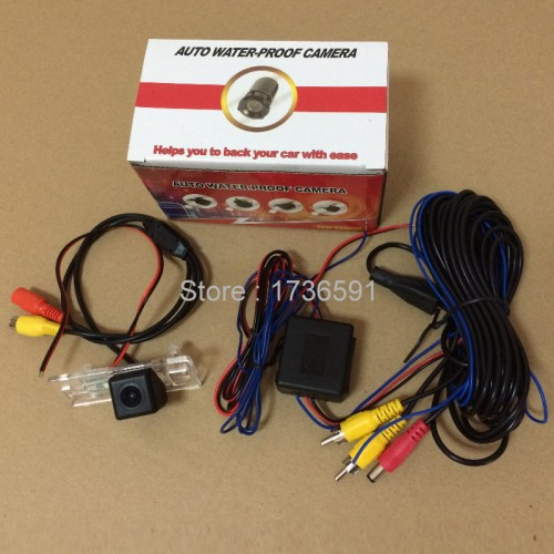 Power Relay Filter For Audi A6 / S6 / A7 / S7 2011~2015 + Car Rear View Camera / Back up Reverse Camera / HD CCD NIGHT VISION