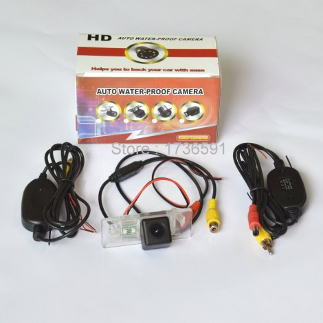Wireless Camera For Audi Q3 2012~2014 / Car Rear view Camera / HD Back up Reverse Camera / CCD Night Vision