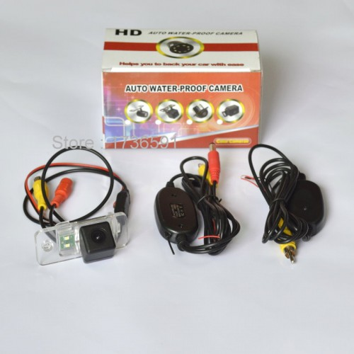 Wireless Camera For Audi Q7 / Q7 TDI / Car Rear view Camera / Back up Reverse Parking Camera / HD CCD Night Vision