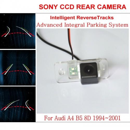 Car Intelligent Parking Tracks Camera FOR Audi A4 B5 8D 1994~2001 HD CCD Night Vision Reverse Camera / Rear View Camera