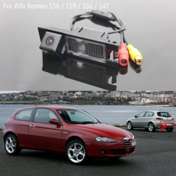 Rear View Camera / FOR Alfa Romeo 147 / Reversing Back up Camera / Car Parking Camera / HD CCD Night Vision / Water-Proof