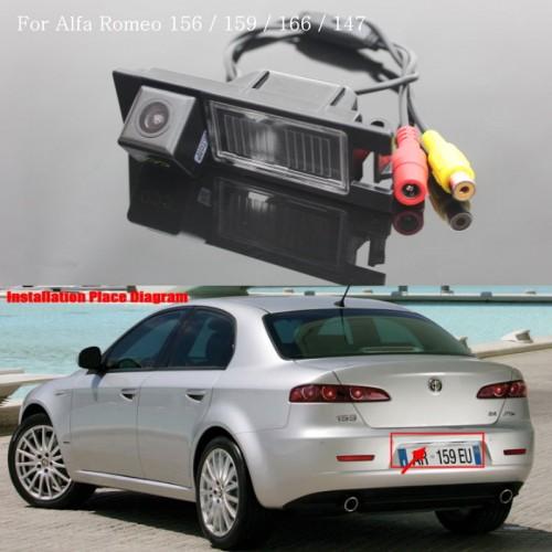 FOR Alfa Romeo 159 Car Reversing Parking Camera / Rear View Camera / HD CCD Color NTST or PAL / Back up Reverse Camera