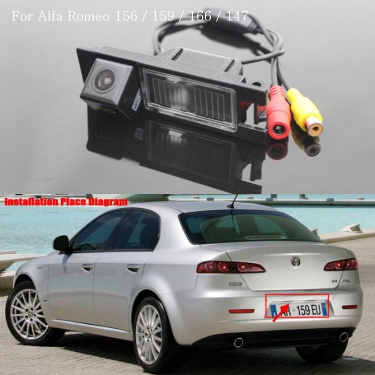 For Alfa Romeo 159 Car Reversing Parking Camera Rear View Camera