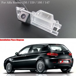 FOR Alfa Romeo 147 / Car Reverse Parking Camera / Rear View Camera / Reversing Back up Camera / Water-Proof HD CCD Night Vision