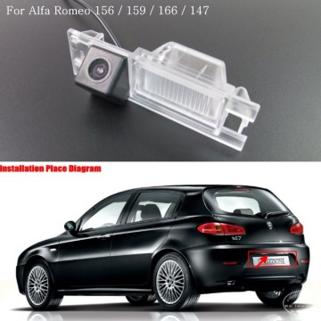 FOR Alfa Romeo 147 / Car Reverse Parking Camera / Rear View Camera / Reversing Back up Camera / Water-Proof HD CCD Night Vision