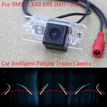 Car Intelligent Parking Tracks Camera FOR BMW 1 E82 E88 2007~2013 / Back up Reverse Camera / Rear View Camera / HD CCD