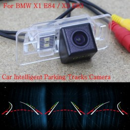 Car Intelligent Parking Tracks Camera FOR BMW X1 E84 / X3 E83 / Back up Reverse Camera / Rear View Camera / HD CCD