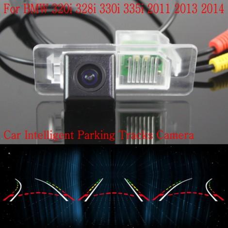 Car Intelligent Parking Tracks Camera FOR BMW 320i 328i 330i 335i 2011 2013 2014 / HD Back up Reverse Camera / Rear View Camera