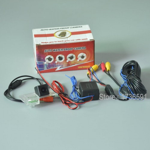 Power Relay For BMW 530i 2012 2013 / Car Rear View Camera / Parking Back up Reverse Camera / HD CCD NIGHT VISION