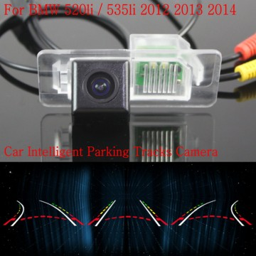 Car Intelligent Parking Tracks Camera FOR BMW 520li / 535li 2012 2013 2014 / HD Back up Reverse Camera / Rear View Camera