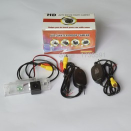 Wireless Camera For Mini Cooper R55 R57 R60 R61 Car Rear view Camera Back up Reverse Parking Camera HD CCD Night Vision