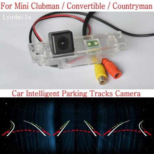 Car Intelligent Parking Tracks Camera FOR Mini Clubman / Convertible / Countryman HD Back up Reverse Camera Rear View Camera