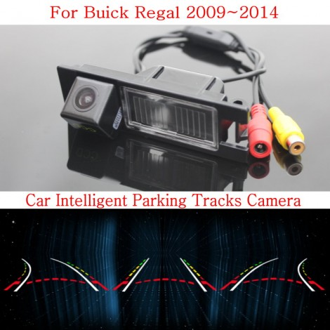Car Intelligent Parking Tracks Camera FOR Buick Regal 2009~2014 / HD Back up Reverse Camera / Rear View Camera