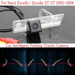 Car Intelligent Parking Tracks Camera FOR Buick Excelle / Excelle XT GT 2002~2008 / HD Back up Reverse Camera / Rear View Camera