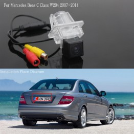 For Mercedes Benz C Class W204 2007~2014 Car Reversing Back up Parking Camera / Rear View Camera / HD CCD Night Vision