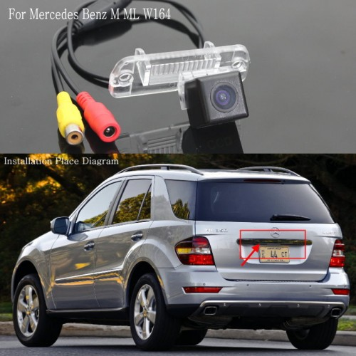 For Mercedes Benz M ML W164 / Car Reverse Parking Rear View Camera / Back up Reversing Camera / HD CCD Night Vision