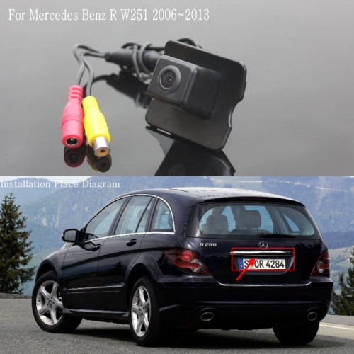 For Mercedes Benz R W251 2006~2013 / Car Parking Camera / Rear View Camera / Back up Reversing Camera / HD CCD Night Vision