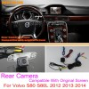 For Volvo S80 S80L 2012 2013 2014 / RCA & Original Screen Compatible / Car Rear View Camera Sets / Back Up Reverse Cameracloud-zoom-gallery