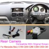 For Mercedes Benz C180 C200 C280 C300 C350 C63 AMG / RCA & Original Screen Compatible Rear View Camera / Back Up Reverse Cameracloud-zoom-gallery