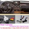 For Mercedes Benz C Class W205 2014 2015 2016 / RCA & Original Screen Compatible / Car Rear View Back Up Reverse Camera