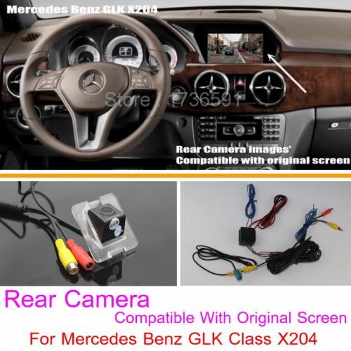 For Mercedes Benz GLK Class X204 RCA & Original Screen Compatible / Car Rear View Camera Sets / Back Up Reverse Camera
