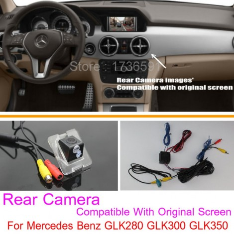 For Mercedes Benz GLK280 GLK300 GLK350 / RCA & Original Screen Compatible / Car Rear View Camera Sets / Back Up Reverse Camera