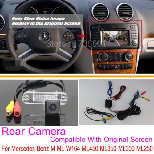 For Mercedes Benz M ML W164 ML450 ML350 ML300 ML250 RCA & Original Screen Compatible / Rear View Back Up Reverse Camera