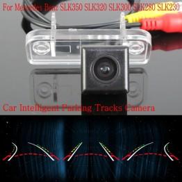 Car Intelligent Parking Tracks Camera FOR Mercedes Benz SLK350 320 300 280 230 / HD Back up Reverse Camera / Rear View Camera