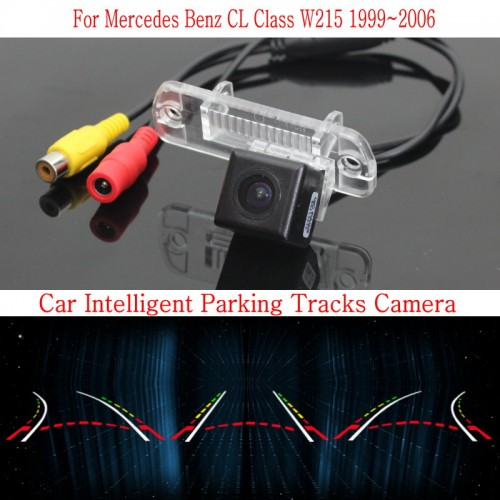 Car Intelligent Parking Tracks Camera FOR Mercedes Benz R W251 2014 2015 / HD Back up Reverse Camera / Rear View Camera