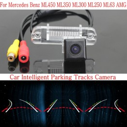 Car Intelligent Parking Tracks Camera FOR Mercedes Benz MB ML350 ML300 ML250 ML63 AMG Back up Reverse Camera / Rear View Camera