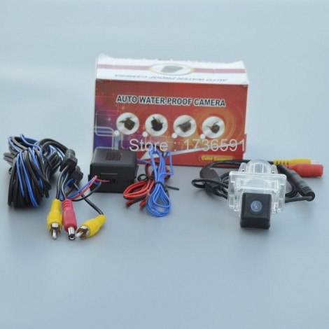 Power Relay Filter For Mercedes Benz C Class W204 / Car Rear View Camera / Back up Reverse Camera / HD CCD NIGHT VISION