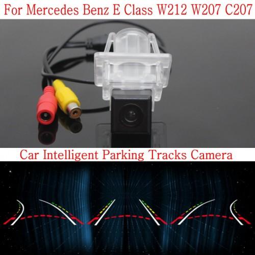 Car Intelligent Parking Tracks Camera FOR Mercedes Benz E Class W212 W207 C207 / HD Back up Reverse Rear View Camera