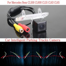 Car Intelligent Parking Tracks Camera FOR Mercedes Benz CL500 CL600 CL55 CL63 CL6 / HD Back up Reverse Camera / Rear View Camera