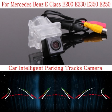 Car Intelligent Parking Tracks Camera FOR Mercedes Benz E Class E200 E230 E350 E250 Back up Reverse Camera / Rear View Camera