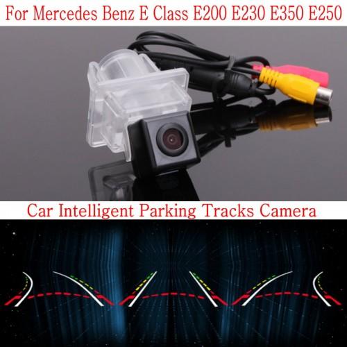 Car Intelligent Parking Tracks Camera FOR Mercedes Benz E Class E200 E230 E350 E250 Back up Reverse Camera / Rear View Camera