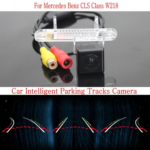 Car Intelligent Parking Tracks Camera FOR Mercedes Benz CLS Class W218 / HD Back up Reverse Camera / Rear View Camera