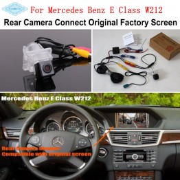 For Mercedes Benz E Class W212 2009~2016 Camera Connect Original Factory Screen Monitor / HD Rear View Back Up Camera