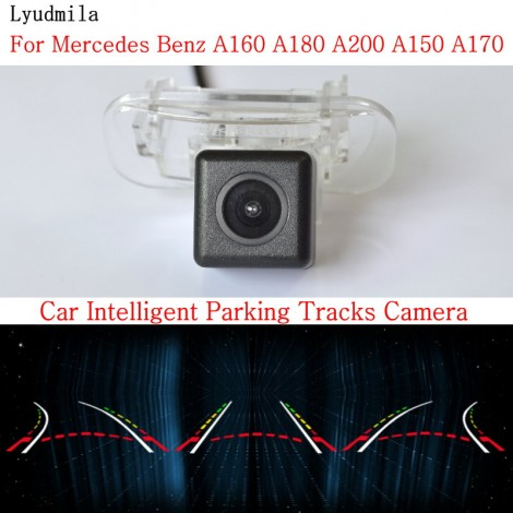 Car Intelligent Parking Tracks Camera FOR Mercedes Benz A160 A180 A200 A150 A170 Back up Reverse Rear View Camera