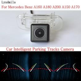 Car Intelligent Parking Tracks Camera FOR Mercedes Benz A160 A180 A200 A150 A170 Back up Reverse Rear View Camera