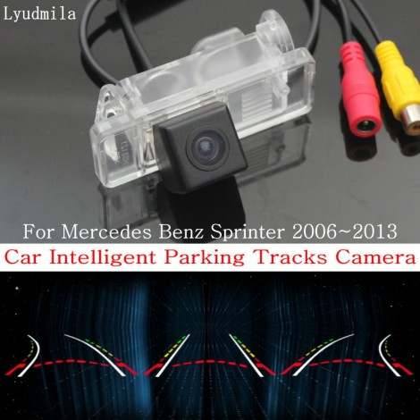 Car Intelligent Parking Tracks Camera FOR Mercedes Benz Sprinter 2006~2013 HD Back up Reverse Camera / Rear View Camera