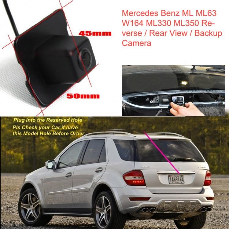 install backup camera mercedes c300