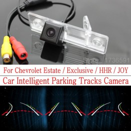 Car Intelligent Parking Tracks Camera FOR Chevrolet Estate / Exclusive / HHR / JOY HD Back up Reverse Camera / Rear View Camera