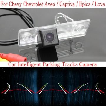 Car Intelligent Parking Tracks Camera FOR Chevrolet Aveo / Captiva / Epica / Lova / HD Back up Reverse Rear View Camera