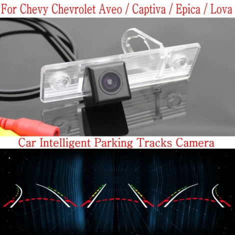 Car Intelligent Parking Tracks Camera FOR Chevrolet Aveo / Captiva / Epica / Lova / HD Back up Reverse Rear View Camera