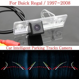 Car Intelligent Parking Tracks Camera FOR Buick Regal 1997~2008 / HD Back up Reverse Camera / Rear View Camera
